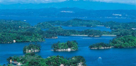 松島の島々(大高森から)
